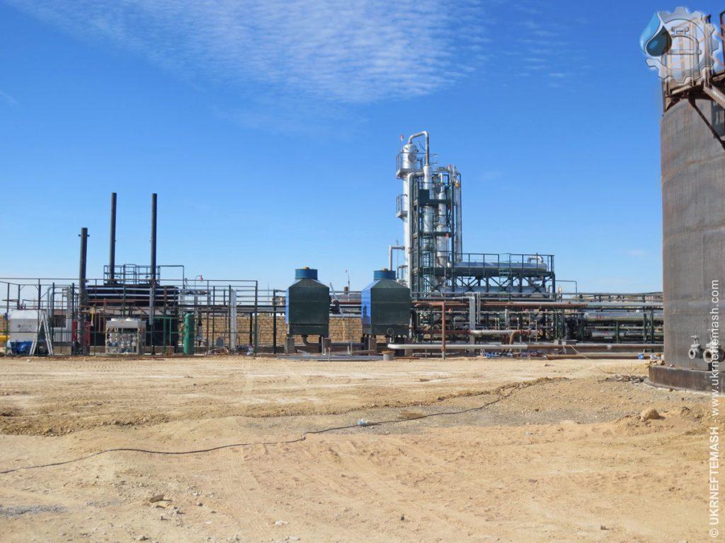 modular mini oil refinery