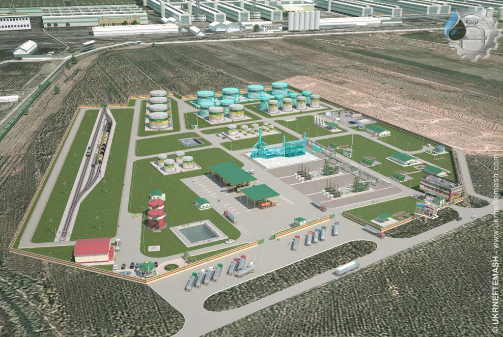 modular refinery Tajikistan