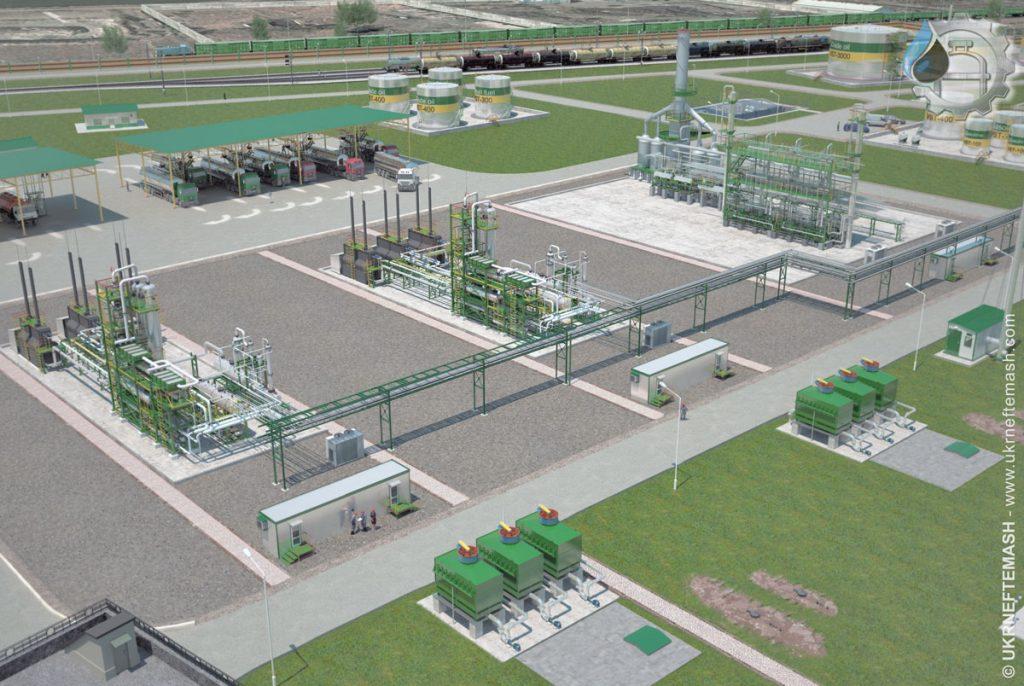 modular refinery Tajikistan 2016