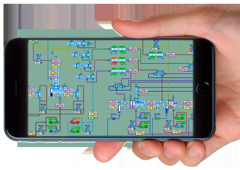 automatization oil refinery