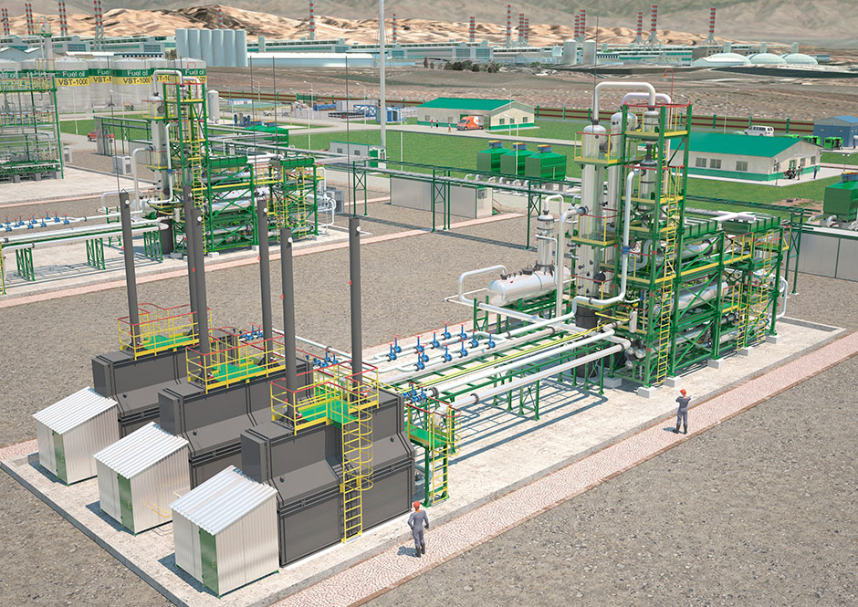 oil refinery plant-250